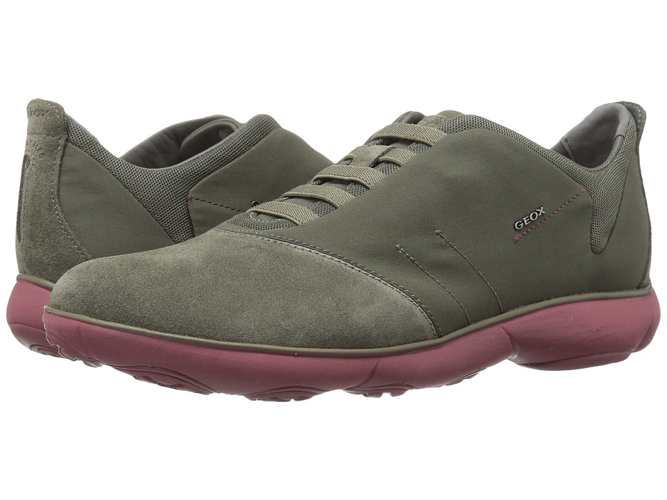Geox - MNEBULA24 (Military/Dark Red) Men's Shoes