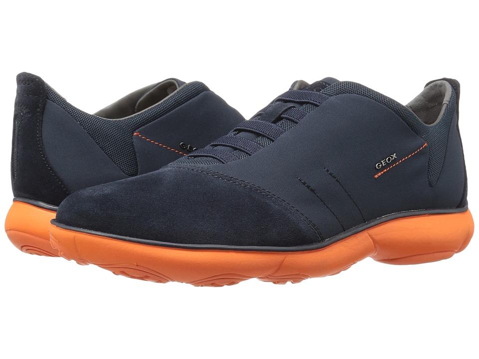 Geox - MNEBULA24 (Navy/Orange) Men's Shoes