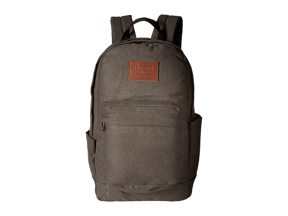 Brixton - Basin Backpack (Grey) Backpack Bags