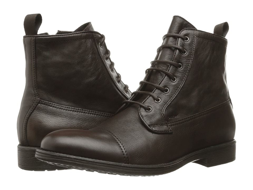 Geox - MJAYLON8 (Dark Brown) Men's Shoes