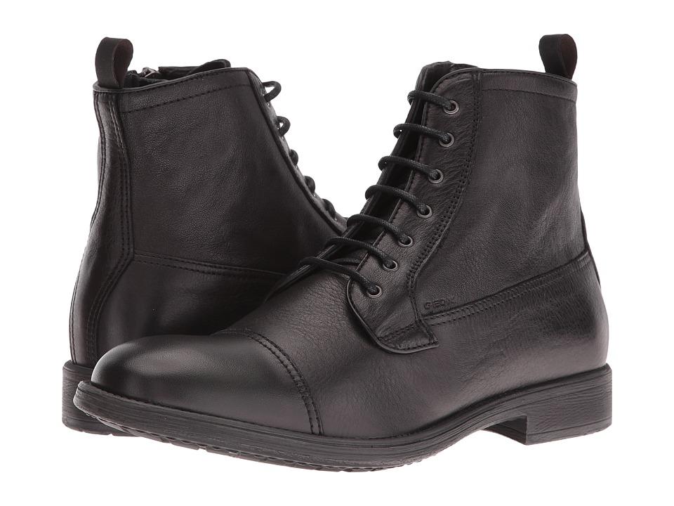 Geox - MJAYLON8 (Black) Men's Shoes