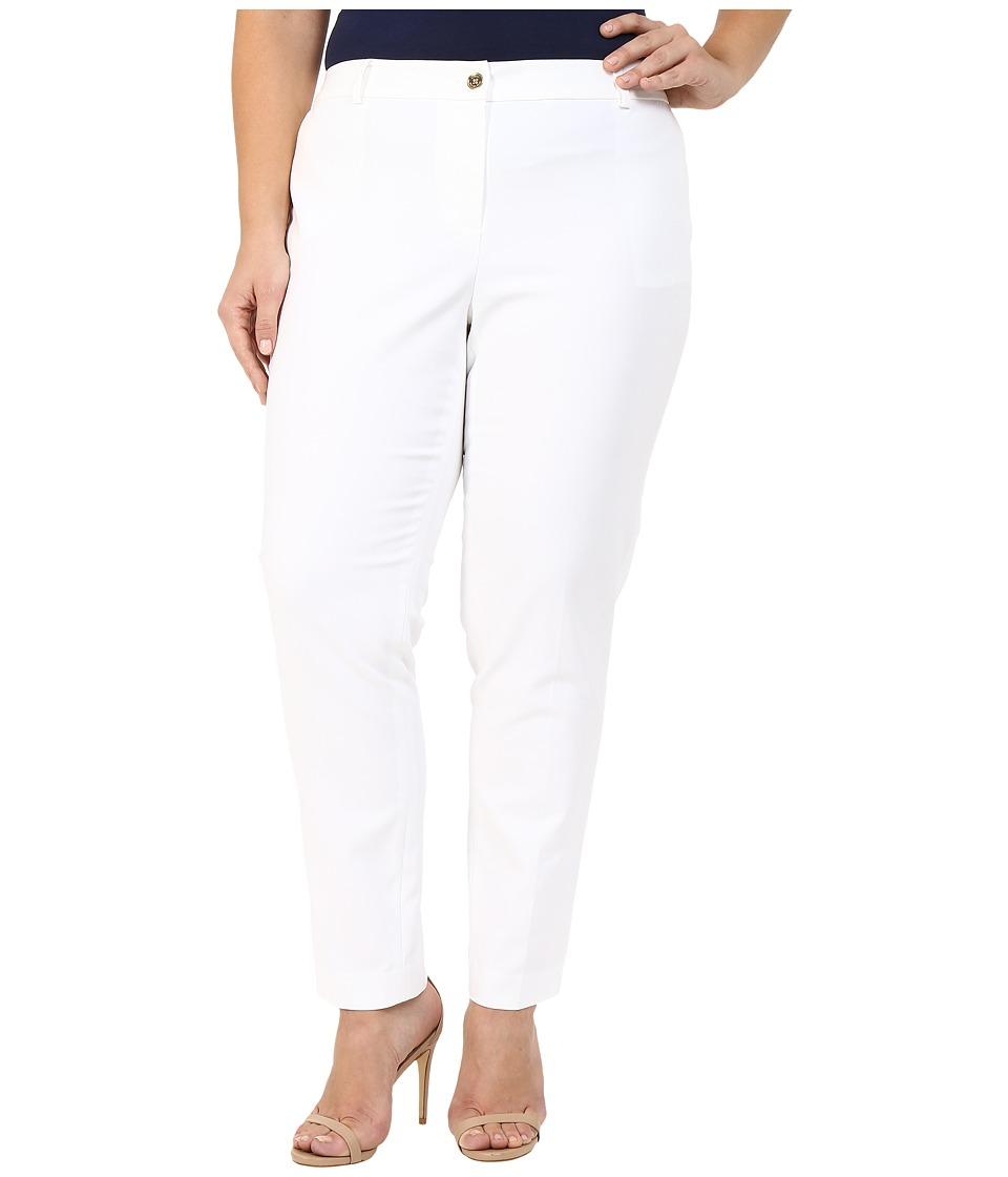 MICHAEL Michael Kors - Plus Size Miranda Pants (White) Women's Casual Pants