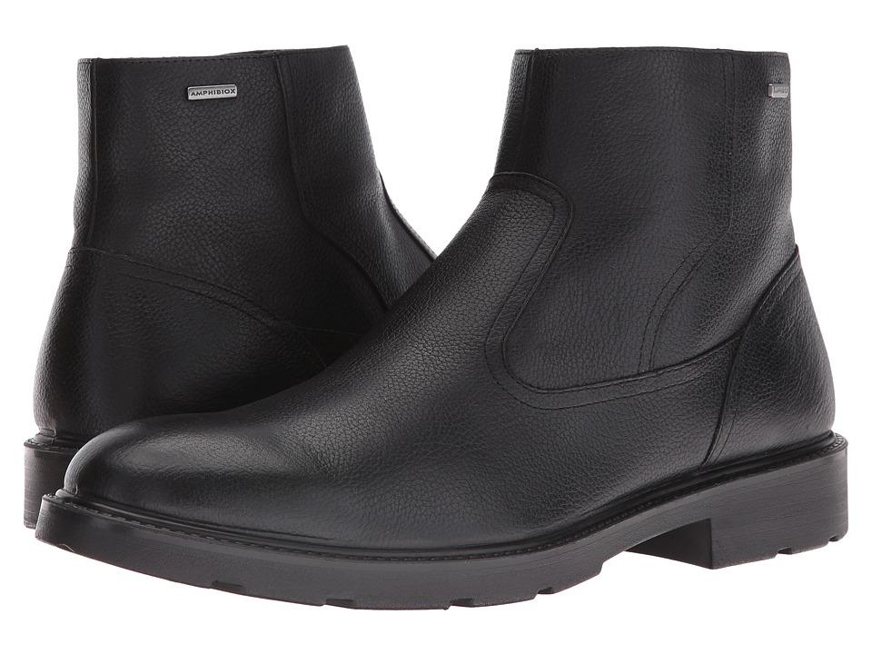 Geox - MRUBBIANOBABX3 (Black) Men's Shoes