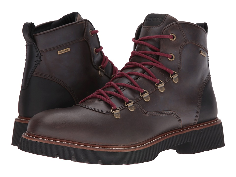 Geox - MKIEVENBABX1 (Coffee) Men's Shoes
