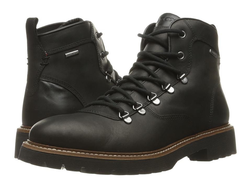 Geox - MKIEVENBABX2 (Black) Men's Shoes