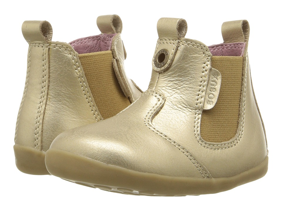 Bobux Kids - Step Up Jodphur Boot (Infant/Toddler) (Gold) Girls Shoes