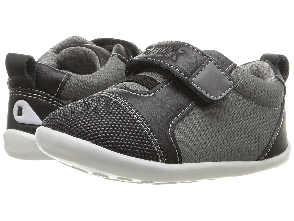 Bobux Kids - Step-Up Classic Nano (Infant/Toddler) (Gray/Black) Boy's Shoes