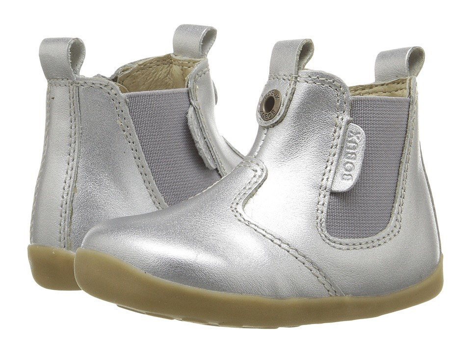 Bobux Kids - Step Up Jodphur Boot (Infant/Toddler) (Silver) Girls Shoes