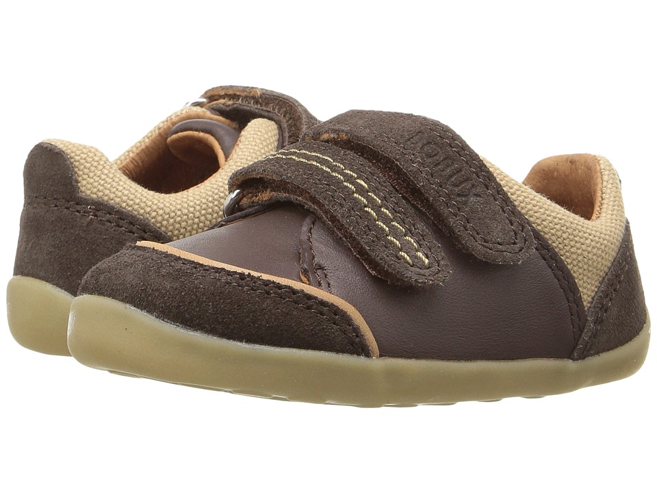 Bobux Kids - Step Up Slide (Infant/Toddler) (Espresso Brown) Boy's Shoes