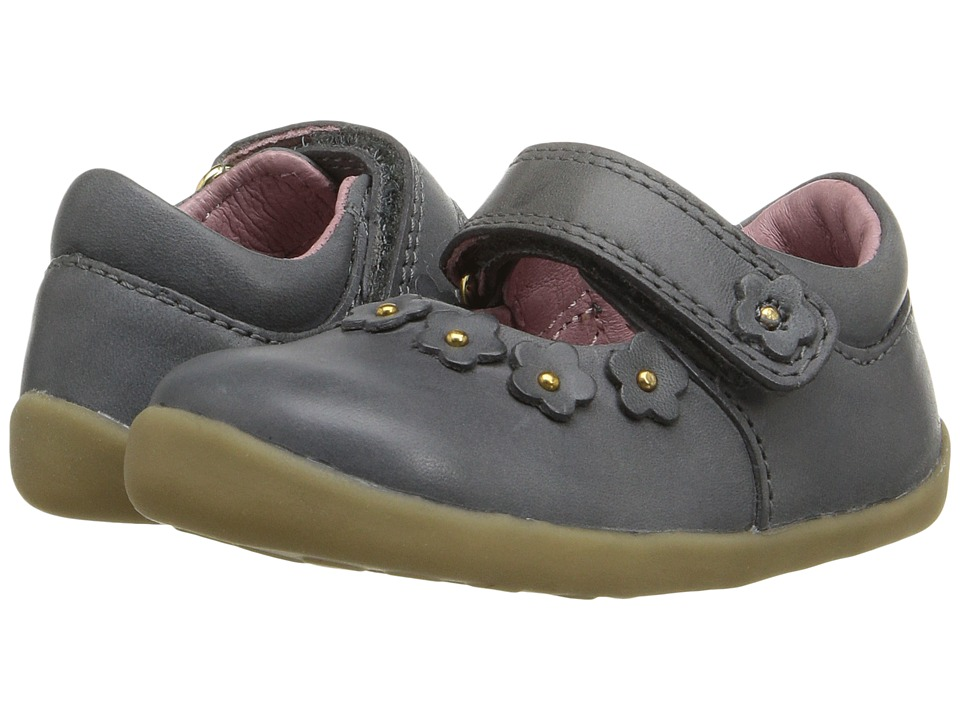 Bobux Kids - Step-Up Classic Dream (Infant/Toddler) (Gray) Girl's Shoes