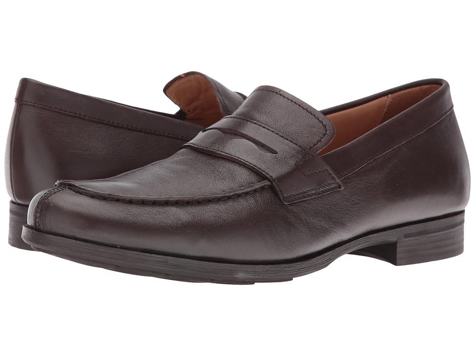 Geox - MBESMINGTON4 (Dark Brown) Men's Shoes