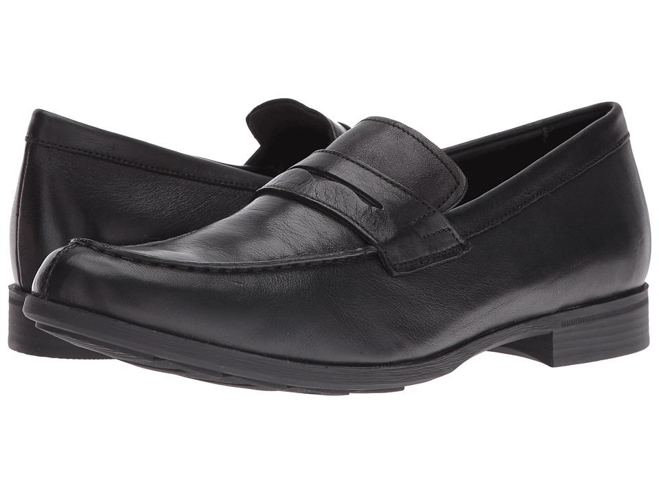 Geox - MBESMINGTON4 (Black) Men's Shoes