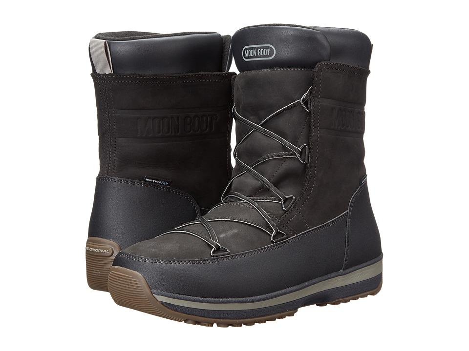 Tecnica - Moon Boot Lem Leather (Black) Men's Boots