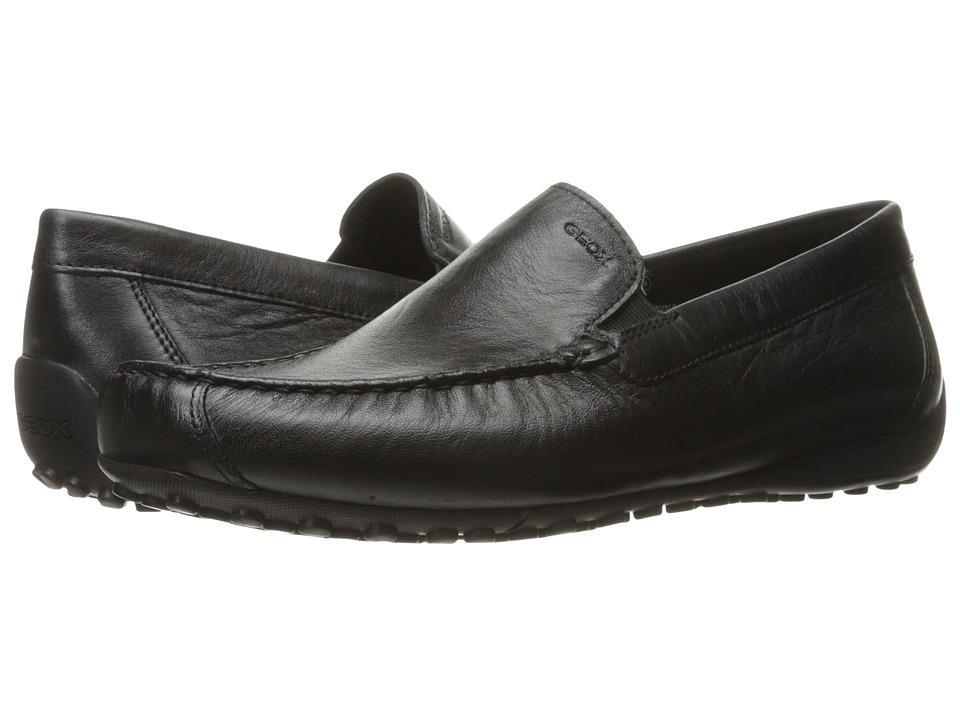Geox - MSNAKEMOC2FIT3 (Black) Men's Shoes