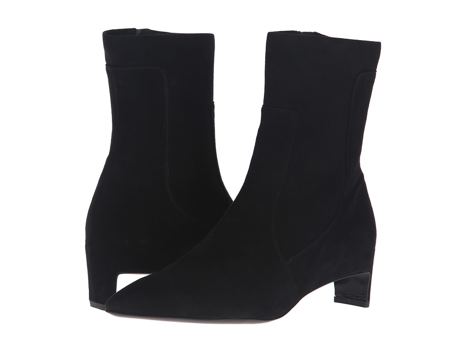 Robert Clergerie Admir (Black Suede) Women