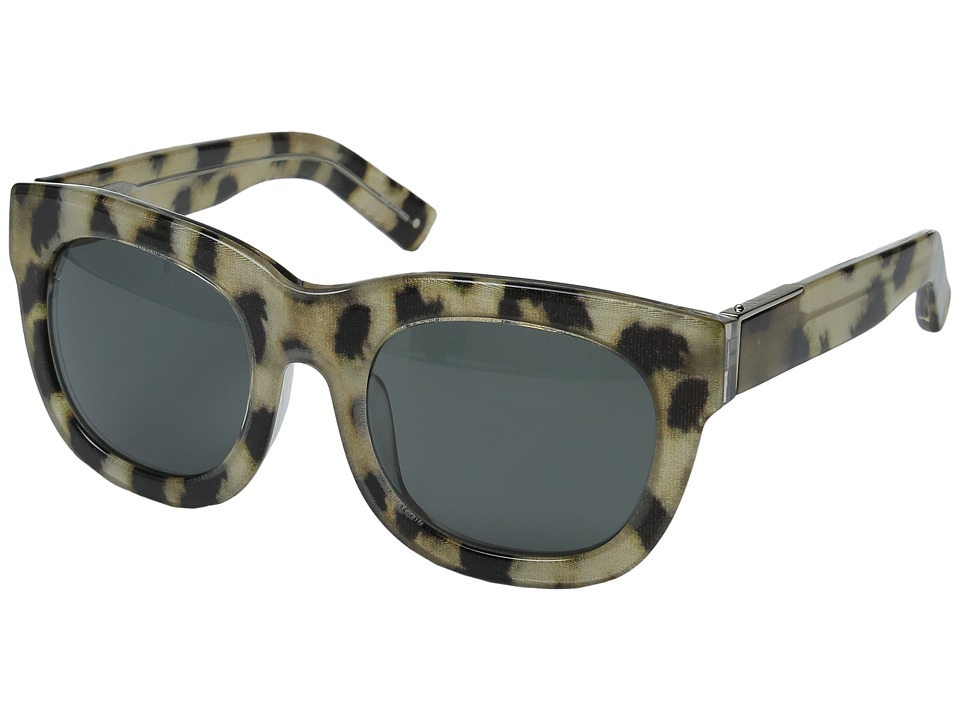 Image of 3.1 Phillip Lim - PL159C1SUN (Cheetah/Fog Green) Fashion Sunglasses