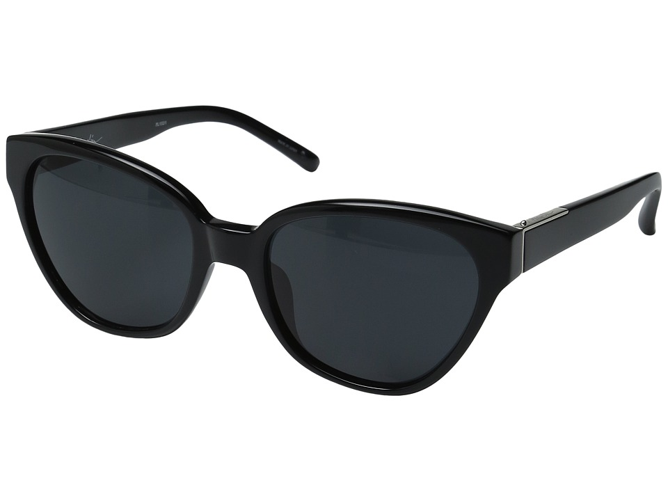 Image of 3.1 Phillip Lim - PL152C1SUN (Black/Silver/Bang Bang Black) Fashion Sunglasses