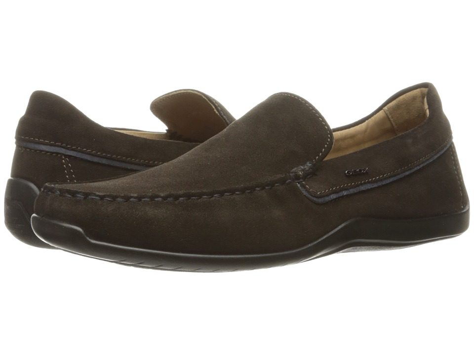 Geox - MXENSEMOX11 (Dark Coffee) Men's Shoes