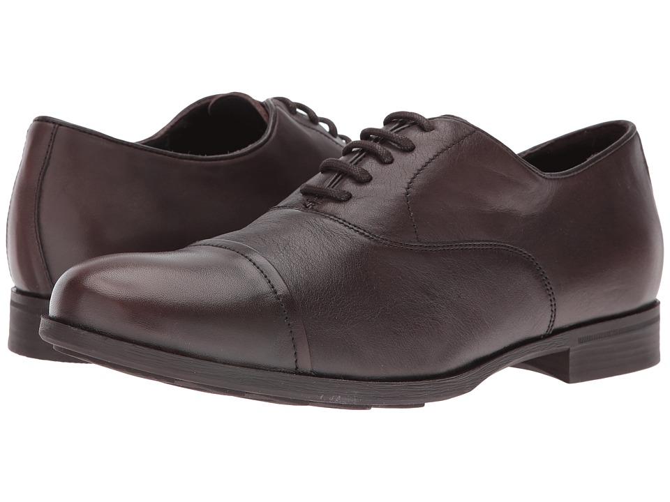 Geox - MBESMINGTON2 (Dark Brown) Men's Shoes