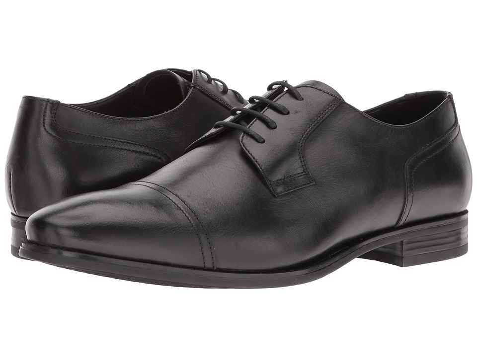 Geox - Malbert2Fit10 (Black 1) Men's Lace up casual Shoes