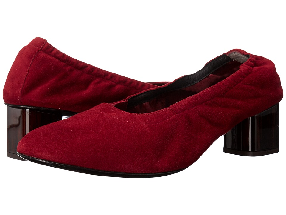 Robert Clergerie - Poket (Cherry Suede) Women's Shoes