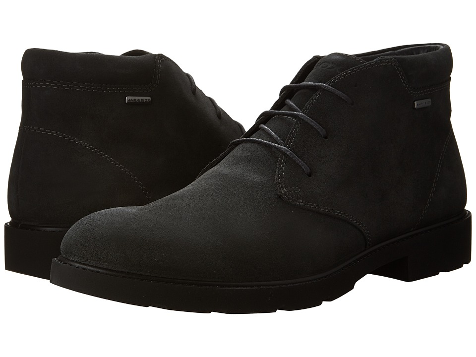 Geox - MRUBBIANOBABX5 (Anthracite) Men's Shoes
