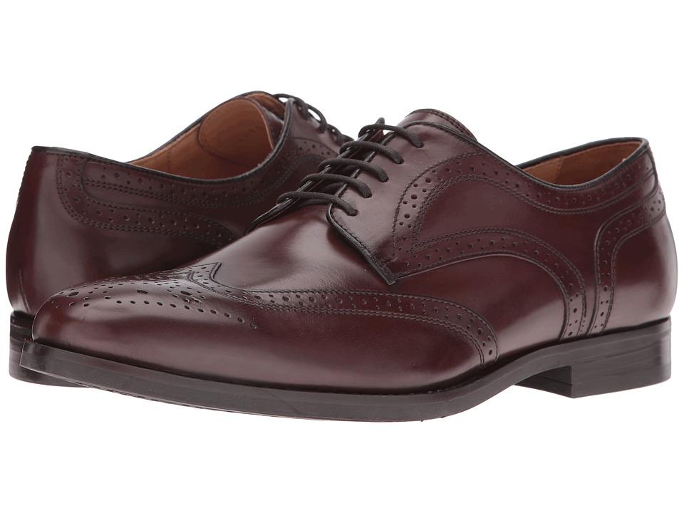 Geox - MHAMPSTEAD5 (Dark Brown) Men's Shoes
