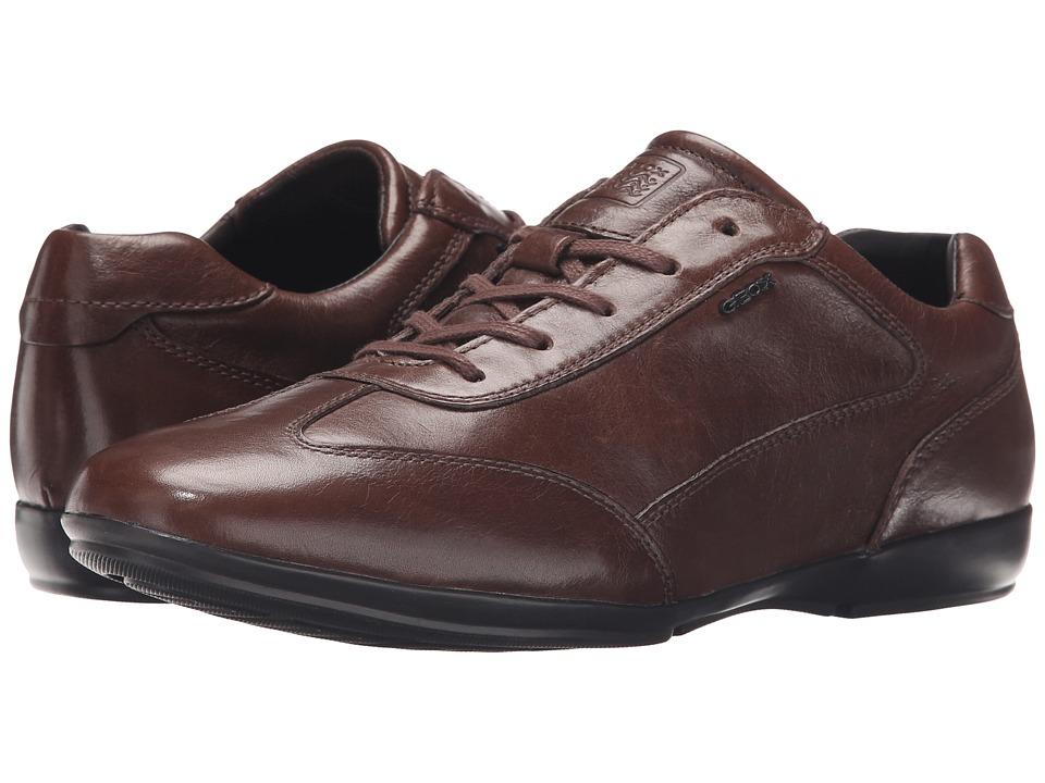 Geox - MEFREM1 (Dark Brown) Men's Shoes