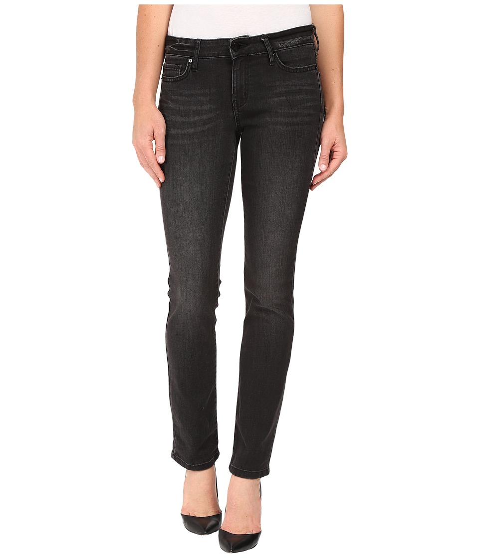 Calvin Klein Jeans - Straight in Broke Black Denim (Broke Black Denim) Women's Jeans