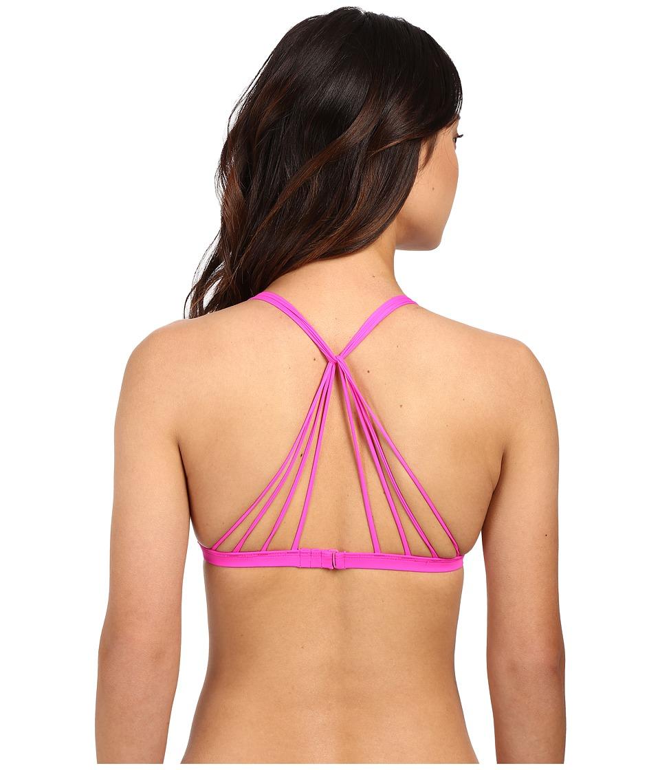 Body Glove Smoothies Flare Top (Flamingo Pink) Women