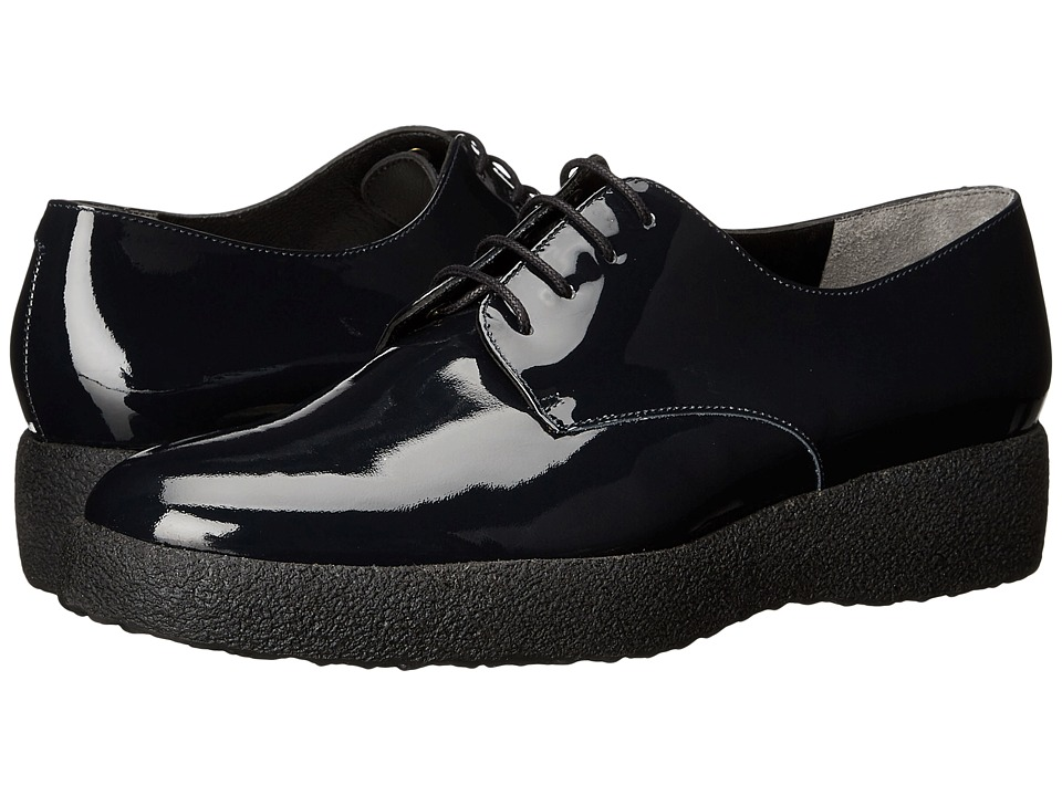 Robert Clergerie - Feydol (Navy Patent) Women's Lace up casual Shoes