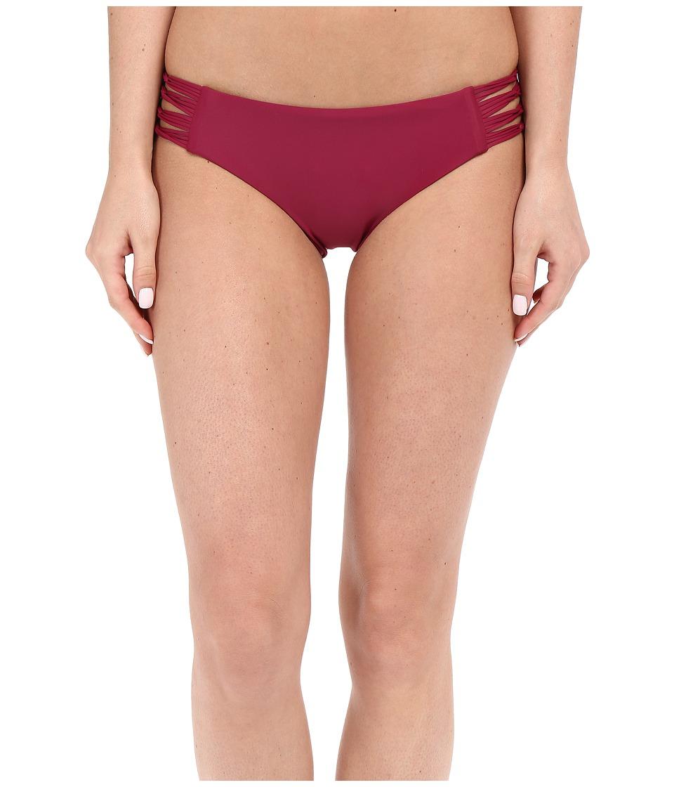 Body Glove - Smoothies Ruby Low Rise Bottom (Black Plum) Women's Swimwear