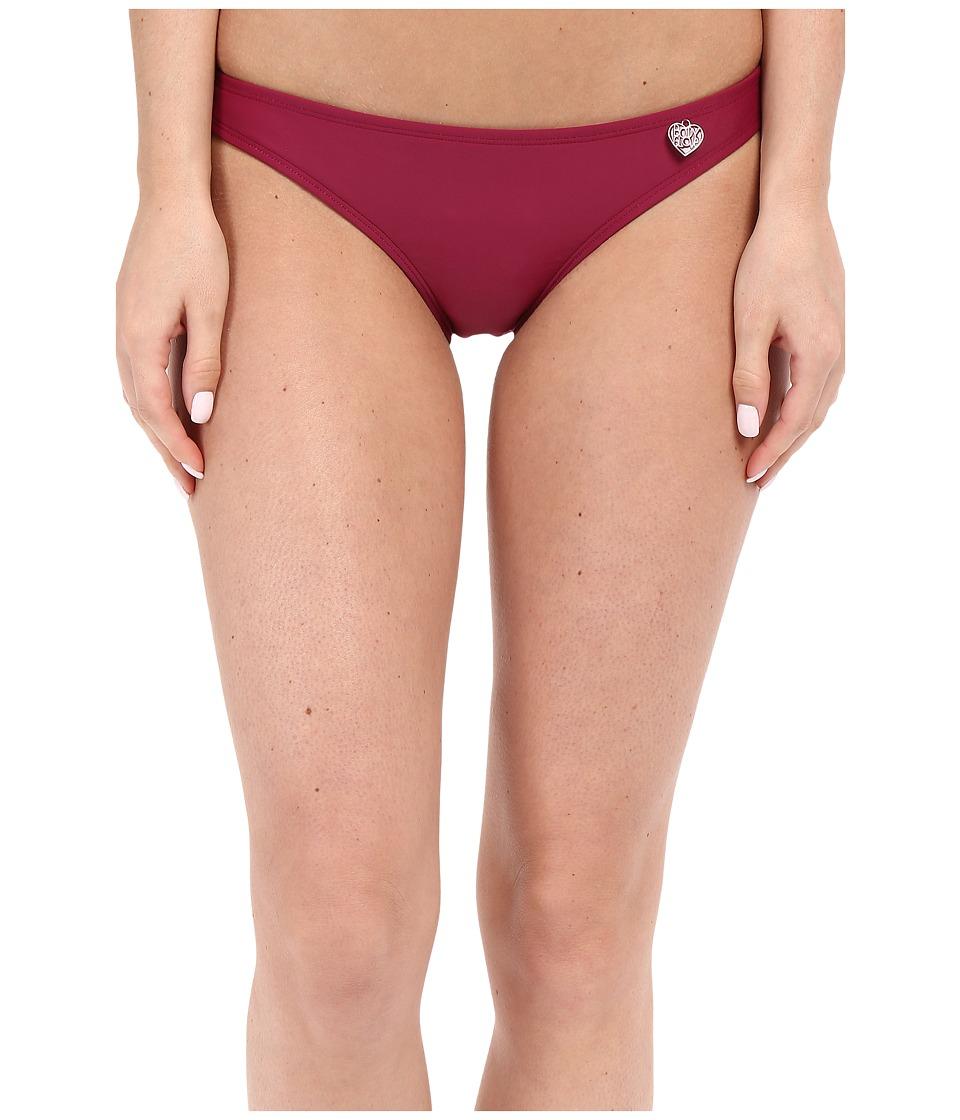 Body Glove - Smoothies Basic Bikini Bottom (Black Plum) Women's Swimwear