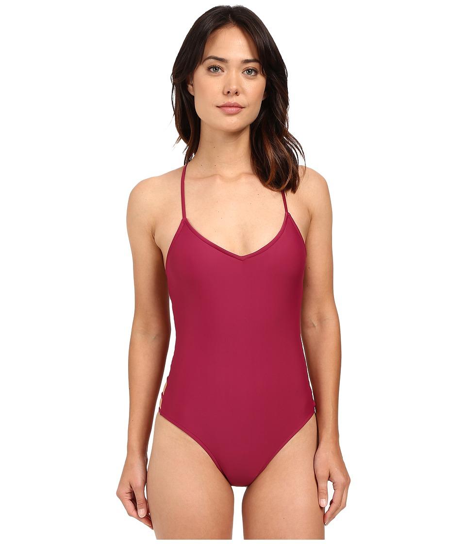Body Glove - Smoothies Nina One-Piece (Black Plum) Women's Swimsuits One Piece