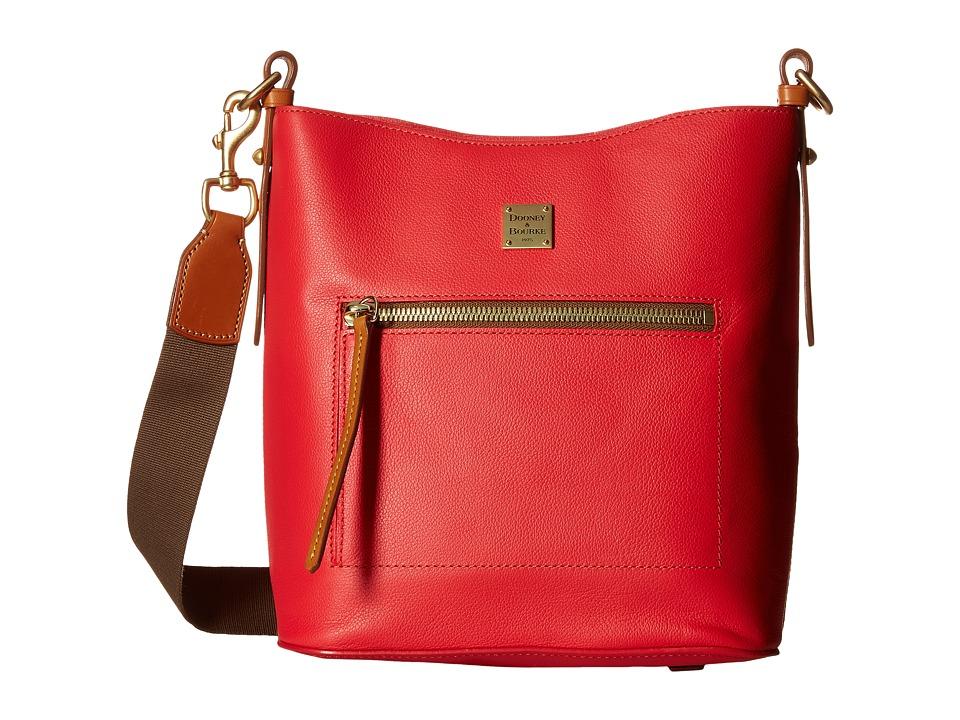 Dooney & Bourke - Raleigh Roxy Bag (Geranium/Natural Trim) Cross Body Handbags