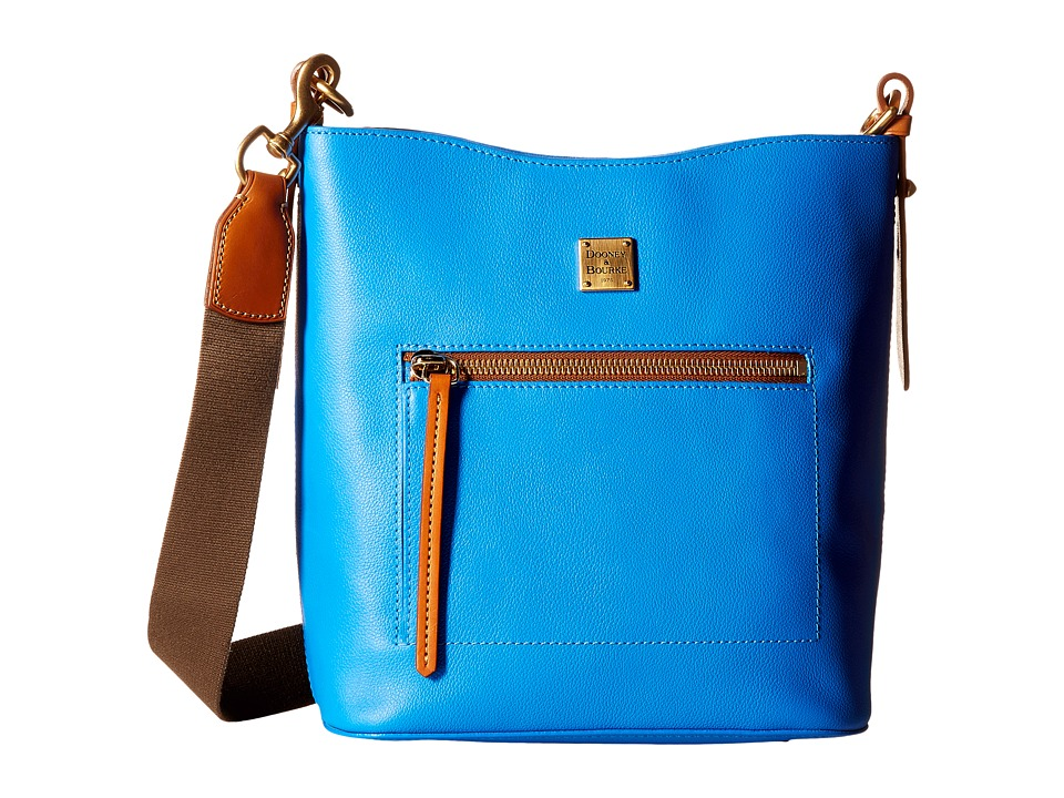 Dooney & Bourke - Raleigh Roxy Bag (Ocean/Natural Trim) Cross Body Handbags