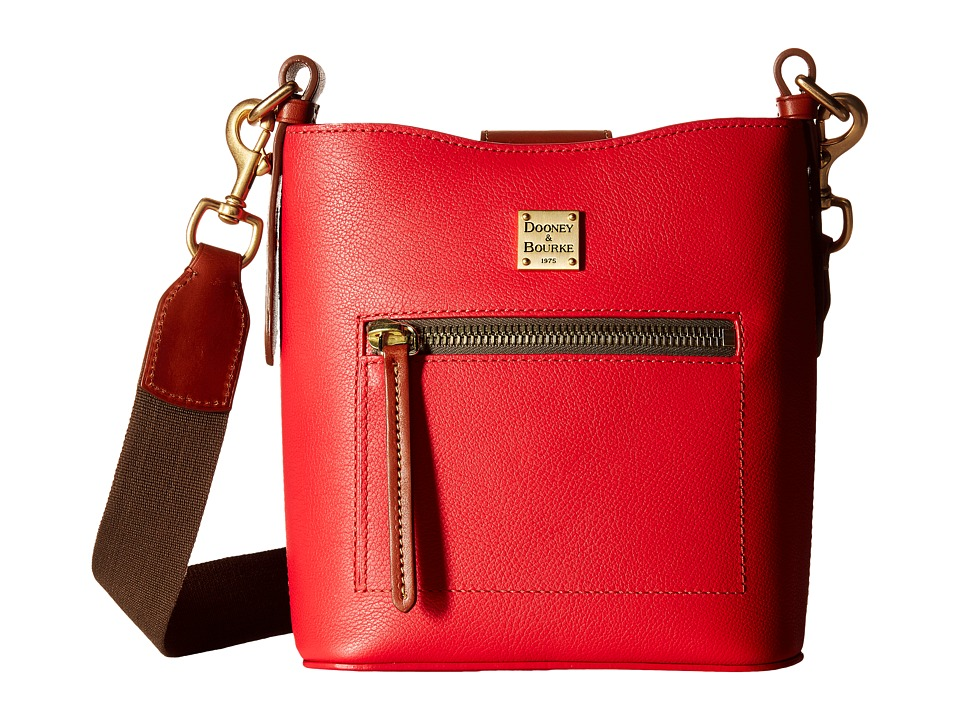 Dooney & Bourke - Raleigh Small Roxy Bag (Geranium/Natural Trim) Bags