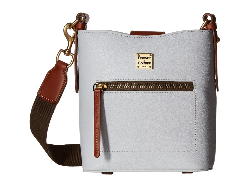 Dooney & Bourke - Raleigh Small Roxy Bag (White/Natural Trim) Bags