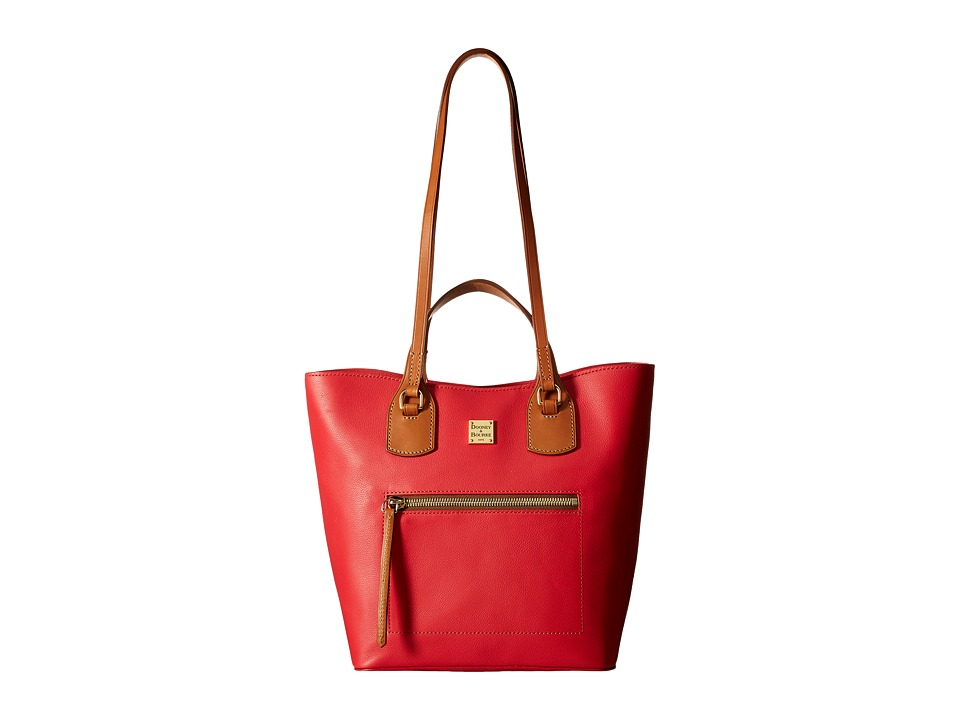 Dooney & Bourke - Raleigh Jenny Bag (Geranium/Natural Trim) Bags