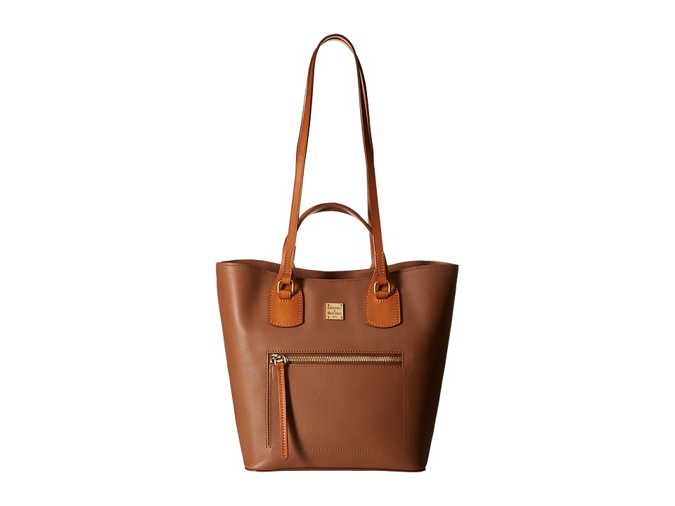 Dooney & Bourke - Raleigh Jenny Bag (Saddle/Natural Trim) Bags