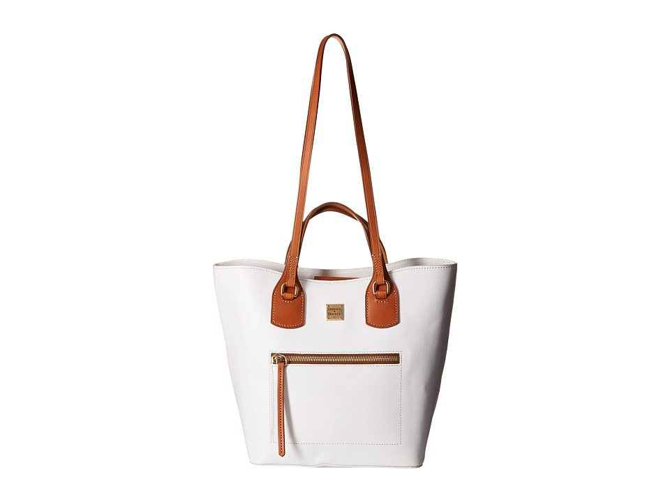 Dooney & Bourke - Raleigh Jenny Bag (White/Natural Trim) Bags