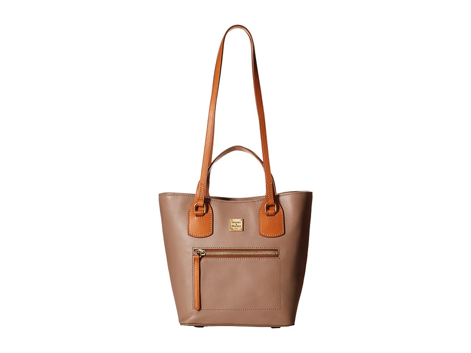 Dooney & Bourke - Raleigh Small Jenny Bag (Mushroom/Natural Trim) Bags