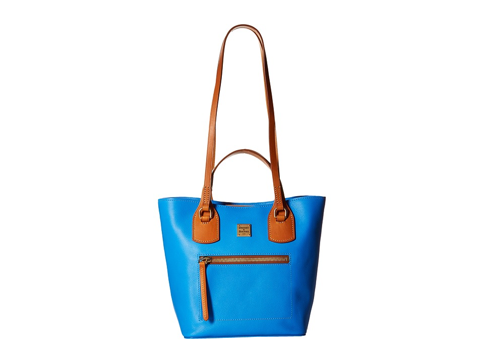 Dooney & Bourke - Raleigh Small Jenny Bag (Ocean/Natural Trim) Bags