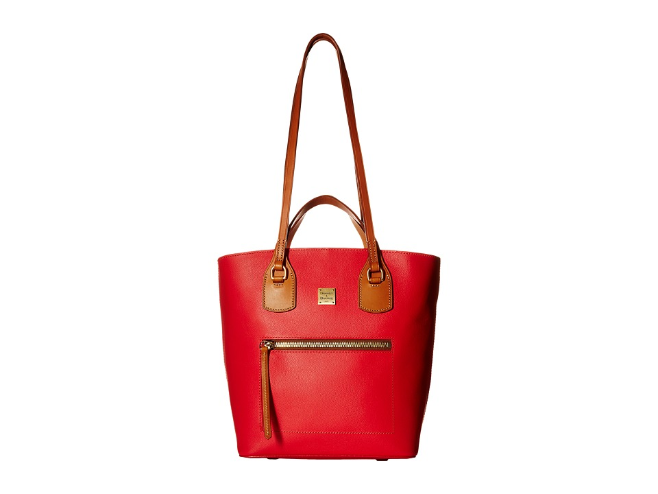 Dooney & Bourke - Raleigh Tara Shopper (Geranium/Natural Trim) Handbags