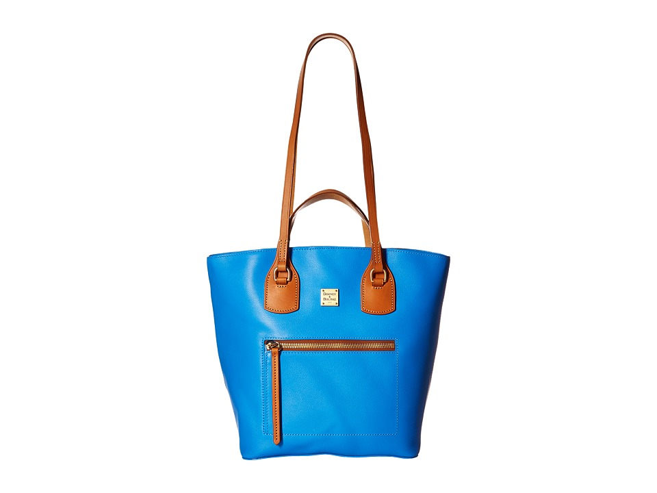 Dooney & Bourke - Raleigh Tara Shopper (Ocean/Natural Trim) Handbags