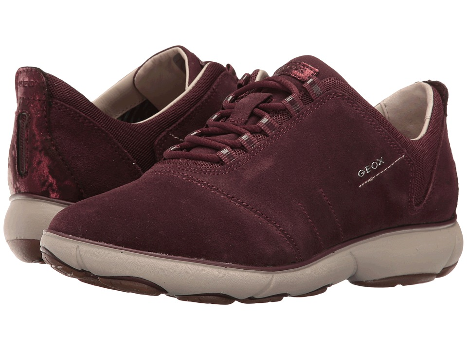 Geox - WNEBULA8 (Dark Burgundy) Women's Shoes