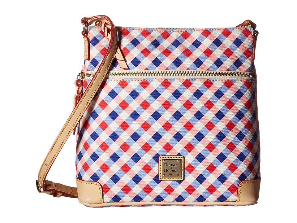 Dooney & Bourke - Elsie Crossbody (Cherry/Purple/Natural Trim) Cross Body Handbags