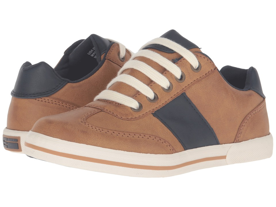 Elements by Nina Kids - Mark (Little Kid/Big Kid) (Cognac) Boy's Shoes
