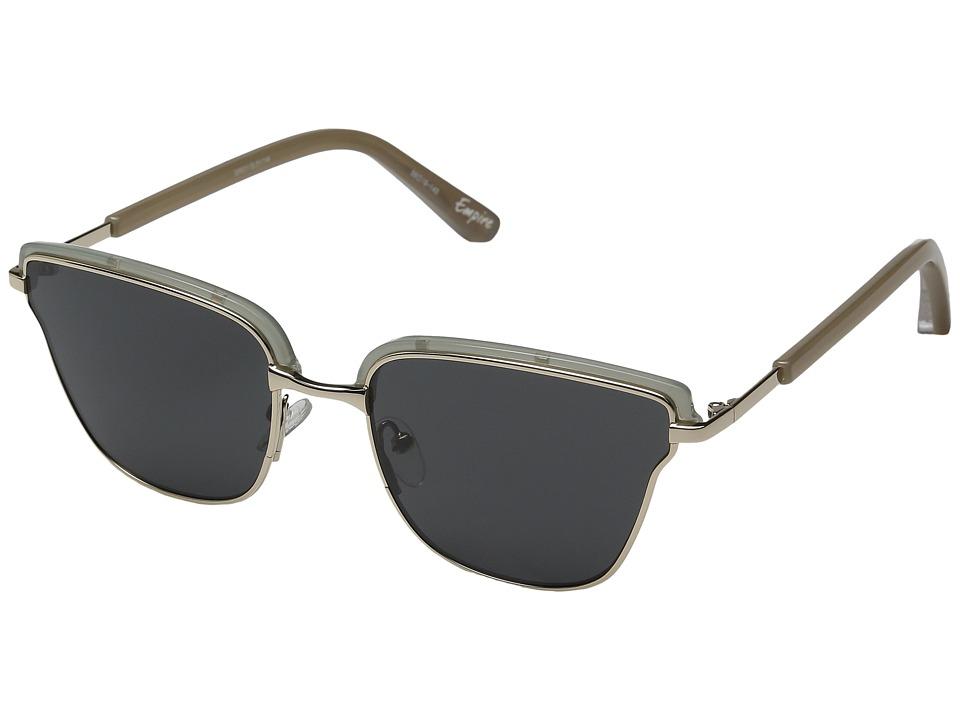 Elizabeth and James - Empire (Teal/Silver/Smoke Mono Lens) Fashion Sunglasses
