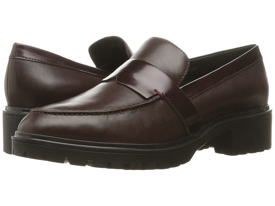 Geox - WPEACEFUL5 (Dark Burgundy) Women's Shoes